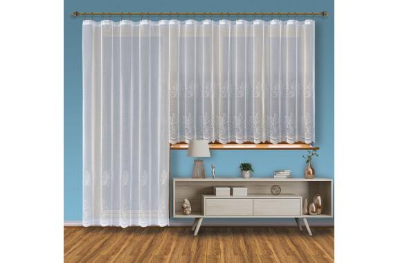 Hotová záclona Viktoria /Okno+balkon/ vzor 2211-2