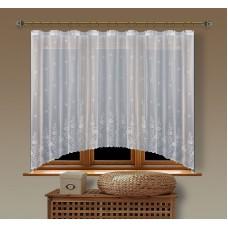 Hotová oblouková záclona  Viktoria/ vzor 8227, 160x350cm